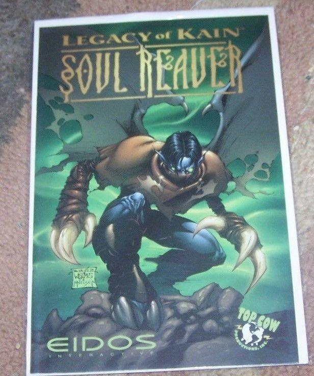 LEGACY OF KAIN SOUL REAVER COMIC #1 RARE EDIOS TOP COW PRELUDE TO GAME