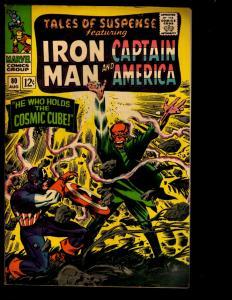 Tales Of Suspense # 80 FN Marvel Comic Book Captain America Iron Man Cosmic NE3
