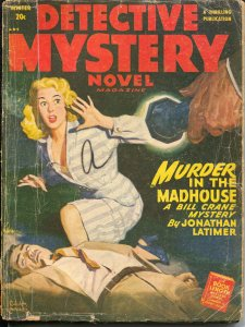 Detective Mystery Novel-Winter 1949-Thrilling-Belarski-Cummings-Latimer-G