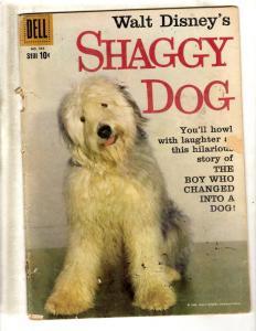 Four Color # 985 VG- Dell Silver Age Comic Book Shaggy Dog Walt Disney JL7