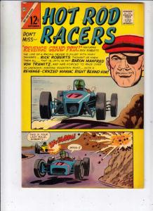 Hot Rod Racers #10 (Sep-66) FN/VF+ High-Grade Rick Roberts, Clint Curtis