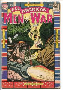ALL-AMERICAN MEN OF WAR #80-1960-DC-SILVER AGE-MILITARY RIBBONS-WWII.-good