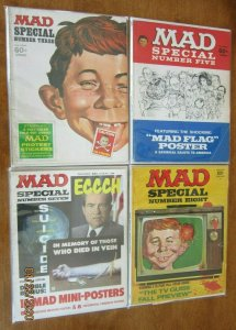 Mad magazine super specials lot from:#3-26 18 different (1970-78)