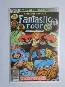 Fantastic Four (1st Series) Annual #14 Newsstand Edition 7.0 (1979) Cat's Paw!