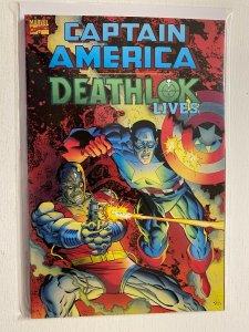Captain America Deathlok Lives #1 4.0 VG (1993)
