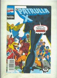 La Patrulla X volumen 1 numero 112: Demasiados mutantes (numerado 2 en trasera)