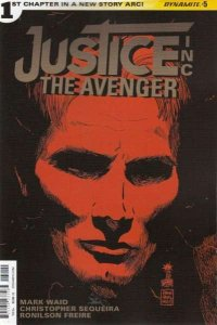 Justice Inc.: The Avenger #5, NM + (Stock photo)