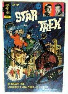 Star Trek #18-15C Gold Key 1973 FN+ Bronze Age Comic Book 1st Print