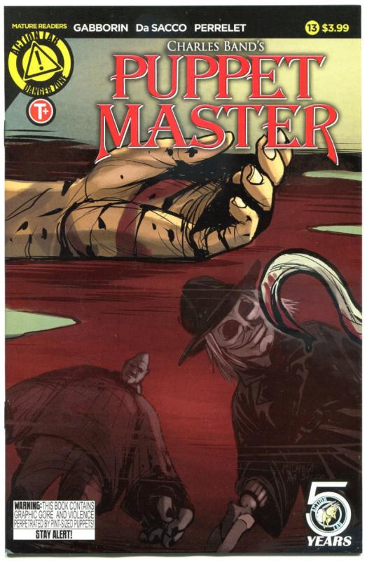 PUPPET MASTER #13, NM, Bloody Mess, 2015, Dolls, Killers,more HORROR  in store,A