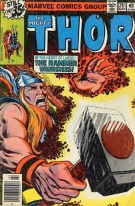 Thor #281 FN; Marvel | save on shipping - details inside