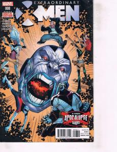 Lot Of 2 Comic Books Marvel Extraordinary X-Men #8 and #9   ON9