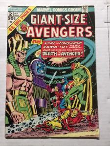 Giant Size Avengers 2 Fine- Fn- 5.5