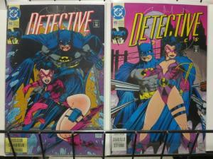 DETECTIVE 652-653  Huntress 2-part story