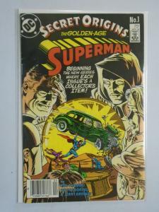 Secret Origins #1 featuring Golden Age Superman 6.0/FN (1986)