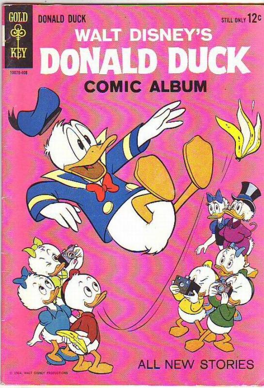Donald Duck #96 (Aug-64) FN/VF Mid-High-Grade Donald Duck