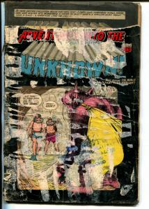 Adventures Into The Unknown #57 1954-pre-code horror-3-D effect issue-FR