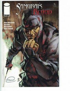 Samurai's Blood #5 VF/NM signed by Owen Wiseman - Image comics