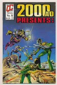 2000 AD Monthly (1986 2nd series) #16 NM
