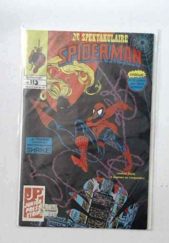 Spider BOX! Estate Sale 7 Spiderman Dutch varient  Bronze Comics VF
