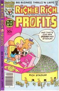 RICHIE RICH PROFITS (1974-1982) 42 VF-NM Sept. 1981 COMICS BOOK