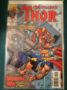 The Mighty Thor #14 vol 2 guest-starring Iron Man