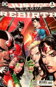 Justice League Rebirth #1 / 2nd Printing Variant (DC, 2016) NM