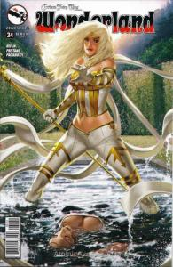 Grimm Fairy Tales presents Wonderland #34C VF/NM; Zenescope   save on shipping -