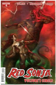 RED SONJA Vulture's Circle #5 C, VF/NM, She-Devil, Parrillo, 2015