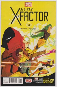 All New X-Factor #1 (VF-NM)