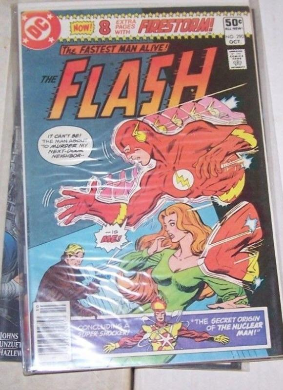 FLASH # 290 (Oct 1980, DC) BARRY ALLEN +ORIGIN OF FIRESTORM PEREZ ART