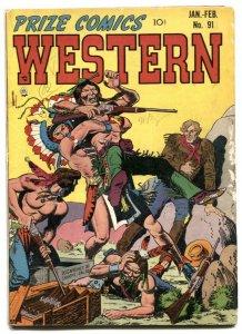 Prize Comics Western #91 1952-John Severin and Will Elder VG-