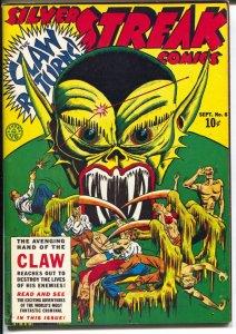 Silver Streak 1970's-Reprints Silver Streak #6 from 1940-color cover-VF/NM