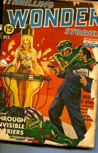 Thrilling Wonder Stories-Pulp-10/1962-Edmond Hamilton-Oscar J. Friend
