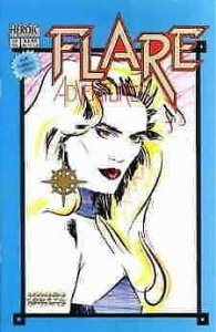 Flare Adventures #10 VF; Hero   save on shipping - details inside