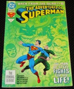 Adventures of Superman #500 (1993)
