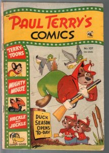 Paul Terry's Comics #107 1953-St. John-Mighty Mouse-Heckle & Jeckle-VG