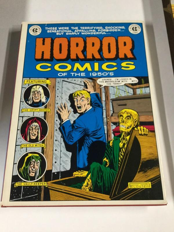 Horror Comics Of The 1950's Hardcover Oversize Color Ec Tpb