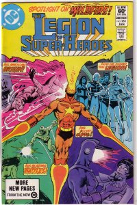 Legion of Super-Heroes (vol. 2, 1980) #283 FN Thomas/Bender, Aparo cover