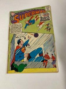 Superman 156 2.0 Good Gd Spine Split Cover Detached Dc Silver Age