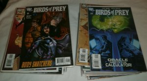 Birds of Prey #91-127 missing 5 Black Canary/Oracle Manhunter, comics lot of 38