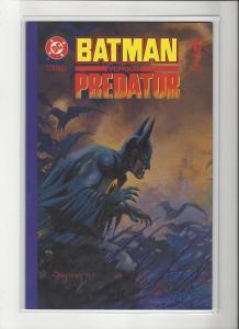 Batman VS. Predator #1 Prestige Format  NM/M