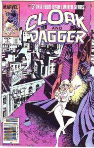 Cloak and Dagger #2 (Nov-83) NM- High-Grade Cloak, Dagger