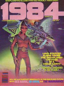 1984 #6 (Jun-79) NM+ Super-High-Grade Rex Havoc, Mutant World and Idi Amin