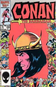 Conan the Barbarian #188 VF/NM; Marvel | save on shipping - details inside