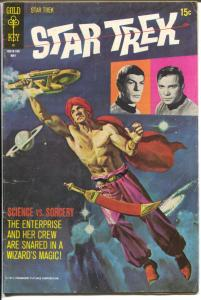 Star Trek #810 1971-Gold Key-Science Vs Sorcery-TV series-VG