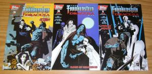 Frankenstein Dracula War #1-3 VF/NM complete series - roy thomas - mike mignola