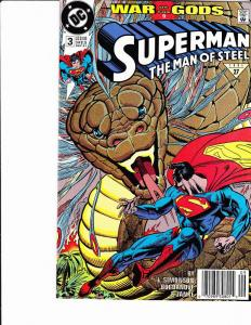 Superman: The Man of Steel #3