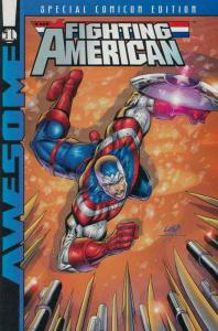 Fighting American Special Comicon Edition #1 FN; Awesome | save on shipping - de