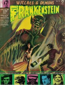 CASTLE OF FRANKENSTEIN 15 VG-F CHRIS LEE,Karloff copy G