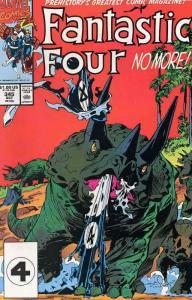 Fantastic Four (Vol. 1) #345 FN; Marvel   save on shipping - details inside